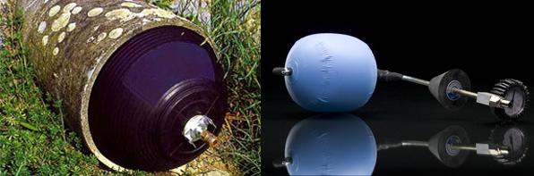 Diferentes tipos de obturadores para tuber as - Detectores de tuberias de agua ...